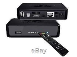 10x Mag 254 W1s - Feel the Power -HD IPTV Set Top Box - cmp AVOV & Dreamlink
