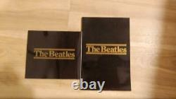 1988 Beatles Wooden Roll Top Complete Box Set with16 cd's & Booklet