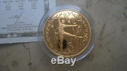 1996 Russland Gold-set Ballerina Pp/proof Box Zertifikat Top Rar
