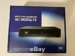 1&1 TV Box Set-Top Box Media Center Receiver HD Digital TV IPTV Neu OVP