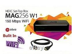 2018 BRAND NEW INFOMIR MAG256W1 Set-Top-Box + Built-in Wi-Fi + HDMI -MAG256 W1