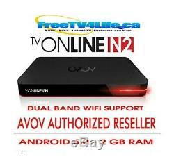 2020 AVOV TVONLINE N2 2GB RAM 8G Android 6.0 4K Set Top BOX DUAL WIFI