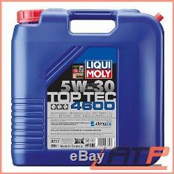 20 L Liter Liqui Moly Top Tec 4600 5w-30 Motor-öl Motoren-öl