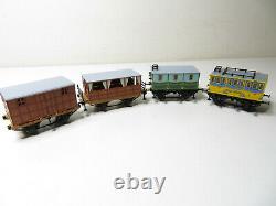 252N Minitrix 11074 Zugset SAXONIA mit Figuren in edler Holzbox top