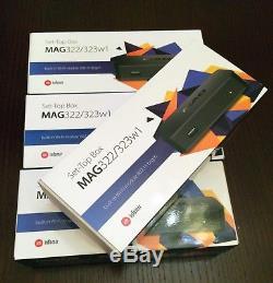 4pcs package GENUINE MAG 322w1 Media Streamer IPTV SetTop Box 254 BEST PRICE