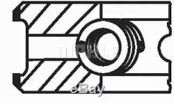 4x ENGINE PISTON RING SET MAHLE ORIGINAL 676 13 N0 I NEW OE REPLACEMENT