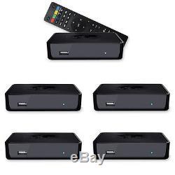 5 x Mag 254 IPTV Set Top Box by INFOMIR Receiver Multimedia Player Internet TV