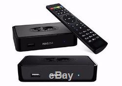 5x MAG 254 IPTV SET TOP BOX M3U Multimedia Player Internet TV Box USB HDMI HDTV