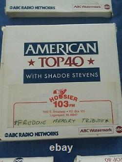 AMERICAN TOP 40 SHADOE STEVENS SHOWS 11 BOX SETS CD's ABC RADIO NETWORK 1991-92