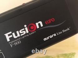 AURORA Fotostudio Komplett-Set-TOP / 3x Studioblitz / 2x Softbox / 3x Stativ