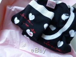 Agent Provocateur Love Me or Die top briefs SET silk cashmere knit playsuit BOX