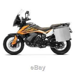 Alu Pannier Set Namib 40l-40l Top Box 38L with mounting kit for luggage racks