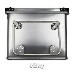 Alu Seitenkoffer Gobi 45l-45l Topcase 36L und Adapter für Kofferträger
