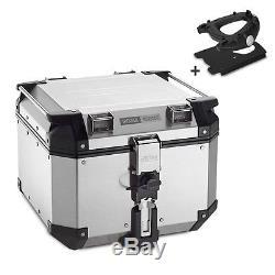 Alu-Top Box Set Givi BMW F 800 GS 08-16 OBK42A Monokey silver