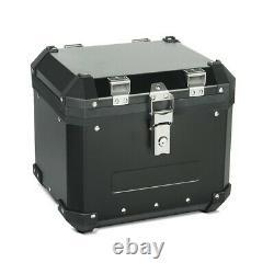 Aluminium Panniers Set + Top Box for BMW R 1200 GS / Adventure GX45 black