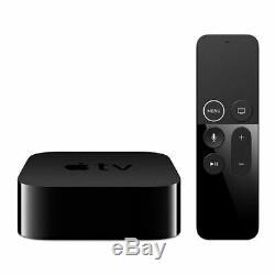 Apple TV 4K 32GB Smart Set Top Box, Black, iTunes + Siri Compatible, WiFi/LAN/Bl