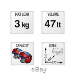 BMW C 400 X 2019 TOP BOX Set GIVI B47 BLADE CASE + SR5130 RACK + M5M Monolock