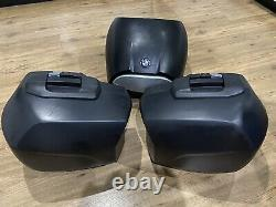 BMW F800GT Panniers Side-Cases With BMW Top Box Trio Luggage Set