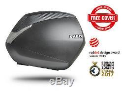 BMW S1000XR 15-17 Full SHAD Luggage Set inc SH45 Topbox, Panniers + Fitting Kits
