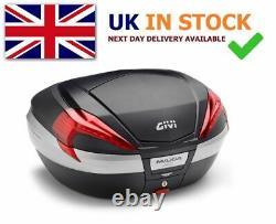 BMW S 1000 XR 2020 TOP BOX GIVI V56NN TOP CASE SET + SRA5138 RACK PLATE Monokey