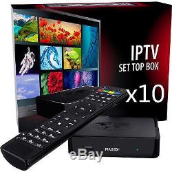 BRAND NEW MAG 254 IPTV Set-Top-Box MAG254 by INFOMIR TV BOX LOT10
