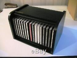 Beatles 16-CD Parlophone Wooden Roll Top Box Set withBook & Original Box NM Low #