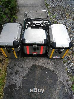 Bmw R Gs1200 Adventure Panniers And Top Box Set 2010