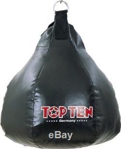Boxbirne von Top Ten, gefüllt. Ca. 19Kg, 48cm. Boxen, Kickboxen, Muay Thai, MMA