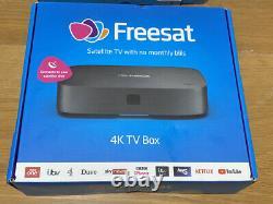 Brand New And Sealed FREESAT UHD-X Smart 4K Ultra HD Set Top Box