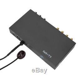 Car Mobile HD DVB-T2 Receiver TV Set Top Box Dual Tuner UHF VHF MPEG H. 264