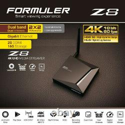 FORMULER Z8 OTT 4K UHD Set-Top Box Android 7 Nougat 2Go/16Go WiFi Dual Band