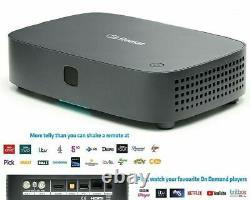 FREESAT UHD-X Smart 4K Ultra HD Set Top Box Freesat Receiver New In Sealed Box