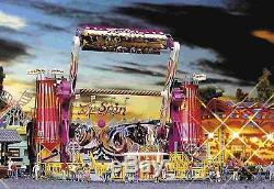 Faller 140431 Funfair Set Carousel Top Spin New Boxed Fair