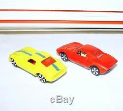 Faller HIT CAR 172 PORSCHE & FERRARI Racing Car + Track Set Boxed`70 TOP RARE