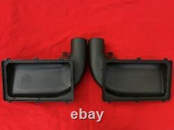 Ferrari California F149 OEM Air Filter Box Main Intake Covers Set L+R TOP