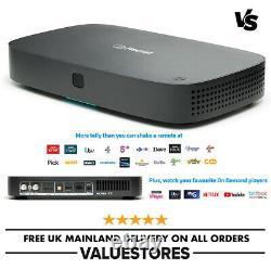 Freesat UHD-4X 1TB Smart 4K Ultra HD Satellite Receiver Set Top Box Recordable