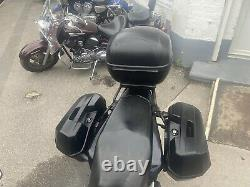 Full Givi 3 Piece Luggage Set For Honda CB 125 F GLR Boxes Top Box Side Panniers