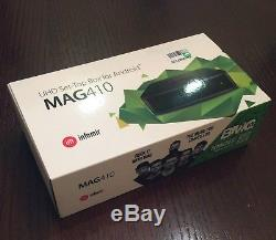 GENUINE Infomir MAG 410 Android 4K Media Streamer IPTV OTT SetTop Box BEST PRICE