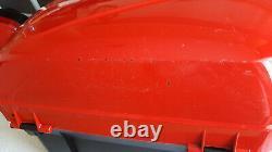 Genuine Honda OEM VFR800 VTEC Red Top & Side Boxes/Panniers/Hard Luggage