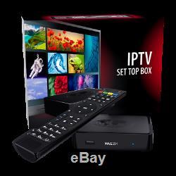 Genuine MAG 254 w1 Infomir IPTV/OTT Set-Top Box WLAN WiFi PLUG & PLAY 24 month