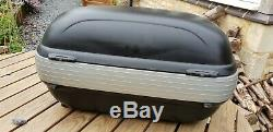 Givi E41 keyless panniers / cases and Givi Maxia topbox E52 set
