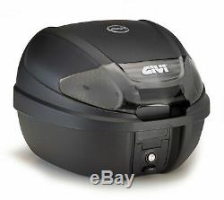 HONDA CB 125 R 2018 TOP BOX complete set GIVI E300NT2 CASE + SR1164 RACK + PLATE