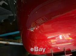 HONDA CROSSRUNNER 800 Topbox And Pannier Set Genuine Honda Candy Red