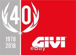 HONDA PCX125 2019 TOP BOX complete set GIVI E370 TECH CASE + SR1163 RACK + PLATE