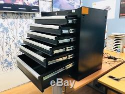 Halfords Professional 5 16 Drawer Tool Chest set, Tool box, Centre Box & Top Box