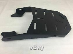 Honda CB 125F Universal Rear Rack Luggage Carrier + 46 LT Top Case Set