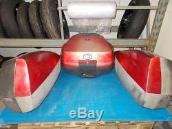 Honda St1300 St 1300 Pan European 2002 2014 Luggage Set Top Box & Panniers
