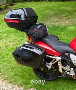 Honda VFR 800 vtec full Set of OEM luggage Panniers Top Box Racks and Inner Bags