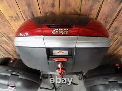 Honda Vfr800 Vtec Givi Panniers And Top Box Set
