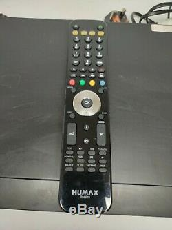 Humax FreeSat+ HD Satellite TV Receiver 500GB Set Top Box Tested With Remote UK